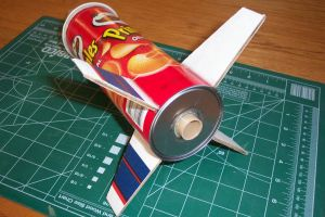 Pringles Recycled Rocket Project